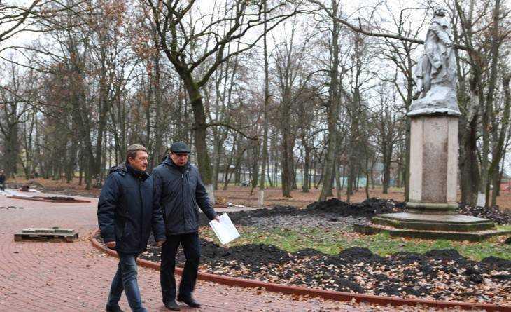 В Брянске подрядчика оштрафуют за срыв срока ремонта Пушкинского парка