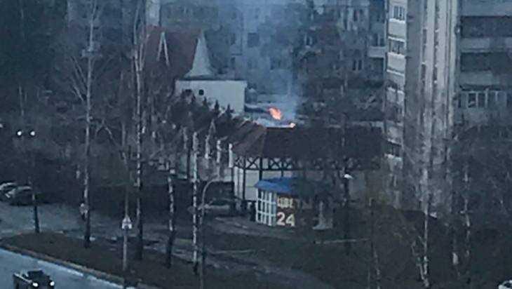 Брянские спасатели рассказали о пожаре в ресторане «Августин»
