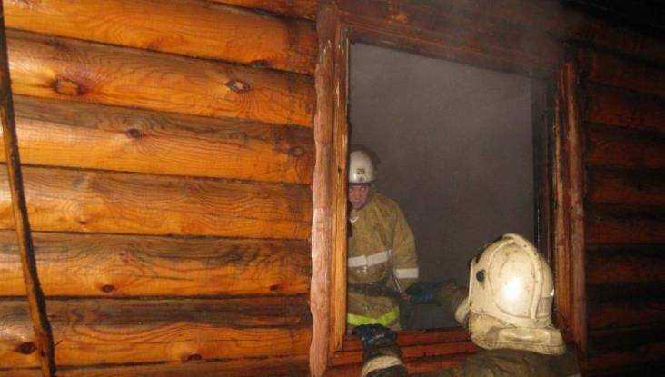 В Стародубе 38-летний мужчина погиб в бане при пожаре