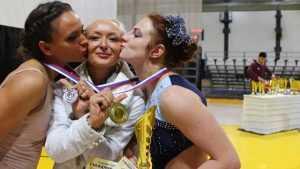 Брянские акробатки заняли пять призовых мест на первенстве в Москве