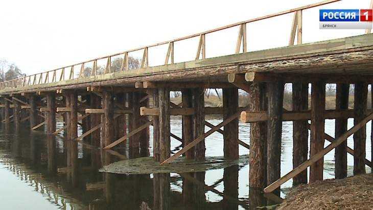 Для жителей брянского села и дачников построили живописный мост