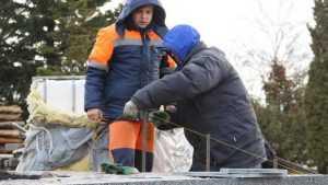 В Брянске фонтан на набережной достроят к Новому году