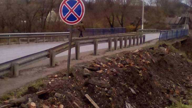 Ремонт моста привел в недоумение брянцев