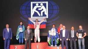 Брянская студентка победила на чемпионате Азии по рукопашному бою