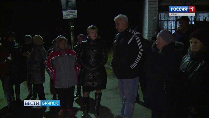 Брянское село Дарковичи из-за долгов за электричество погрузилось во мрак