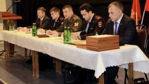 Брянские полковники встретились с частной охраной