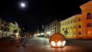 Житель Брянска пожаловался на мрак в центре города