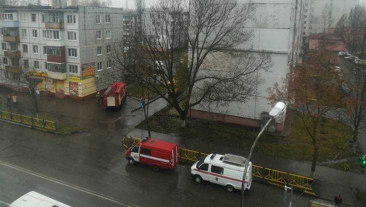 В Брянске из-за пожара на улице Рылеева эвакуировали четверых человек