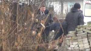 В сети появилось видео с места гибели мужчины в Брянске возле «точки»
