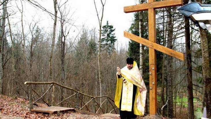 В брянском селе освятили чудотворный источник, помогающий бездетным