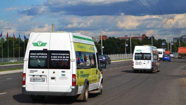 В Брянске 14-летняя школьница разбила голову в маршрутке № 40