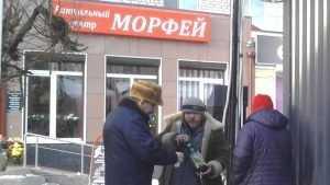 Брянские бойцы ОНФ ударили по алкогольным магазинам