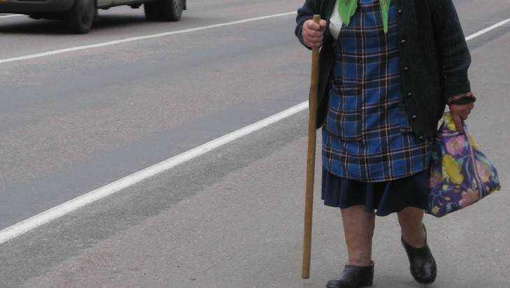 В Брянске маршрутка №110 сбила 76-летнюю пенсионерку