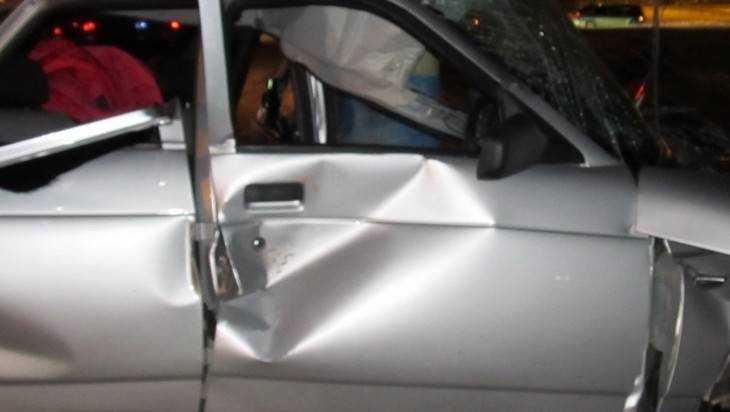 В Брянской области слетел с трассы молодой водитель