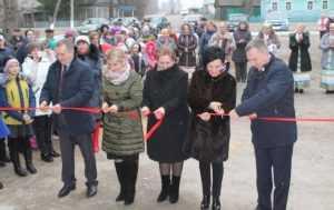 Обновленный Алешковичский ДК принимает гостей