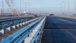 Опубликованы фото готовых участков Крымского моста