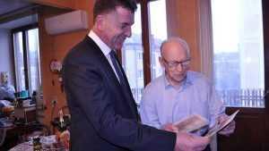 В Брянске с 89-летием поздравили почётного гражданина Старовойта