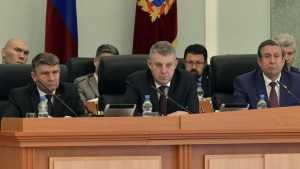 В Брянской думе случился скандал между Антошиным и сенатором Лаховой