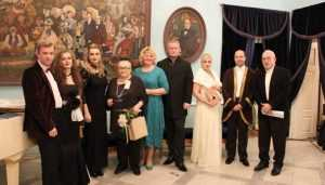 Брянцы отпраздновали в Овстуге 214-летие со дня рождения Тютчева