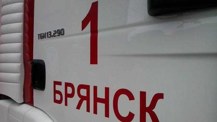 В Брянске на улице Сакко и Ванцетти сгорел дом – есть пострадавший