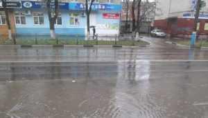Бежицкий район Брянска в первый день зимы утонул в огромных лужах