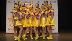 Брянские «шалуньи» победили на «Танцевальном единстве» в Питере