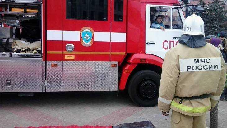 В брянской Митьковке при пожаре погибли двое мужчин