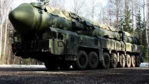 Рядом с Брянской областью разместили могучий ракетный комплекс «Ярс»