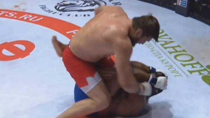 Брянский боец Виталий Минаков нокаутом победил американца Джонсона