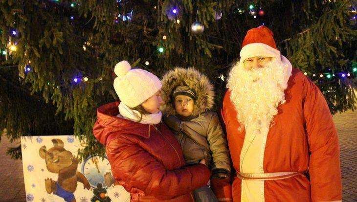 В Брянске первый Дед Мороз уже вышел на промысел