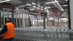 В Брянске начали перекраивать гипермаркет «Линия»
