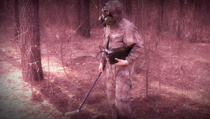 В Новозыбкове дозиметрист снял видео о чернобыльской радиации