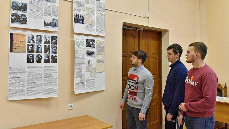 К 100-летию кровавой ВЧК в Брянске открылась выставка