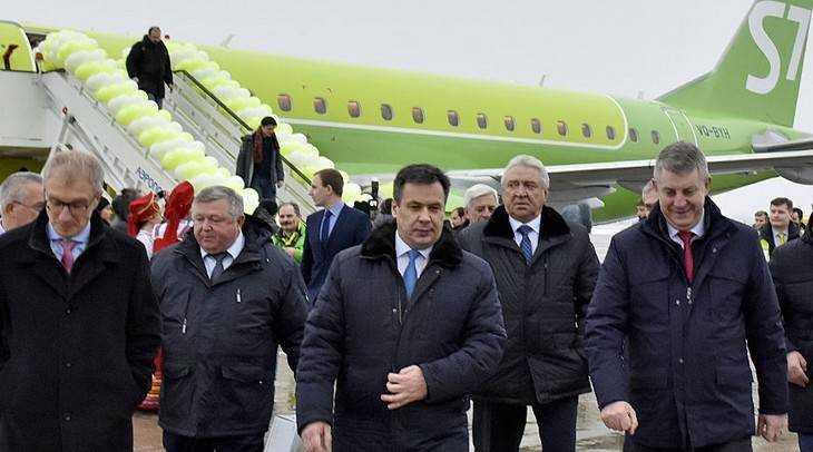 S7 Airlines открыла регулярные рейсы Москва – Брянск