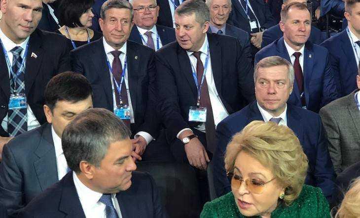 В Москве соседями брянского губернатора стали Володин и Матвиенко