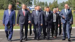 «Газпром» поставил брянского губернатора Богомаза в пример