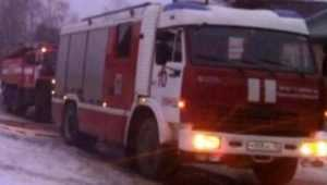 В Клинцах на Зеленой улице во время пожара погиб мужчина