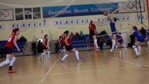 Волейбольный матч в Брянске курьезно прервал поезд