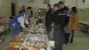 Брянские заключенные набрали харчей перед Новым годом
