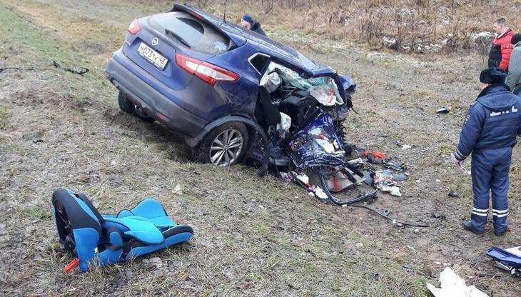 На брянской трассе погибли 4-летняя девочка и 32-летняя женщина