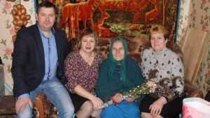 Брянскую долгожительницу поздравил с юбилеем президент России Владимир Путин