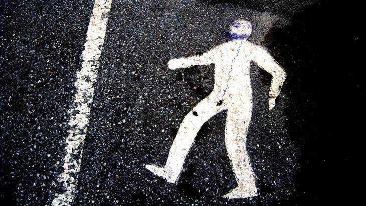 В Клинцах водитель легковушки сбил пешехода