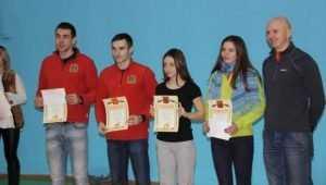 Брянские туристы покорили скалодром в калужском городе Людиново