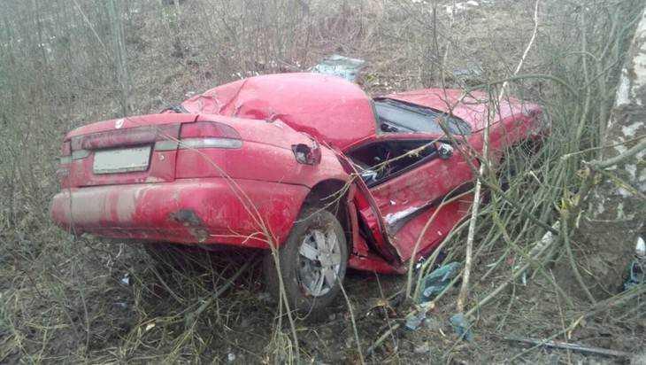 Под Мглином пьяная 26-летняя автомобилистка покалечила себя и спутника
