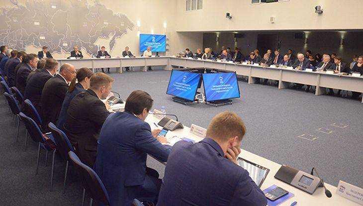 Президиум генсовета «Единой России» утвердил план первоочередных действий партии