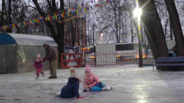 Жителей Брянска пригласили на каток в парке «Юность»