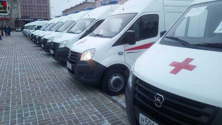 Брянские станции получили 23 машины скорой медицинской помощи