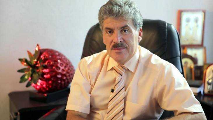 Брянский политик Селебин обрушился с критикой на Грудинина