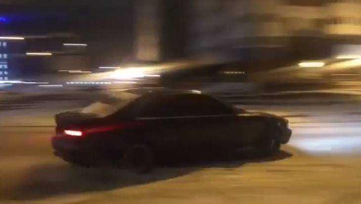 Опубликовано еще одно провокационное видео «адских гонщиков» Брянска