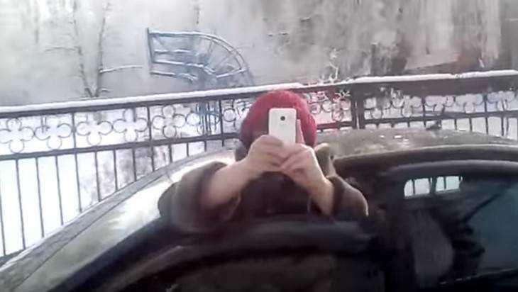 Водительские разборки по-брянски: Я тебя, придурок, сфотографирую